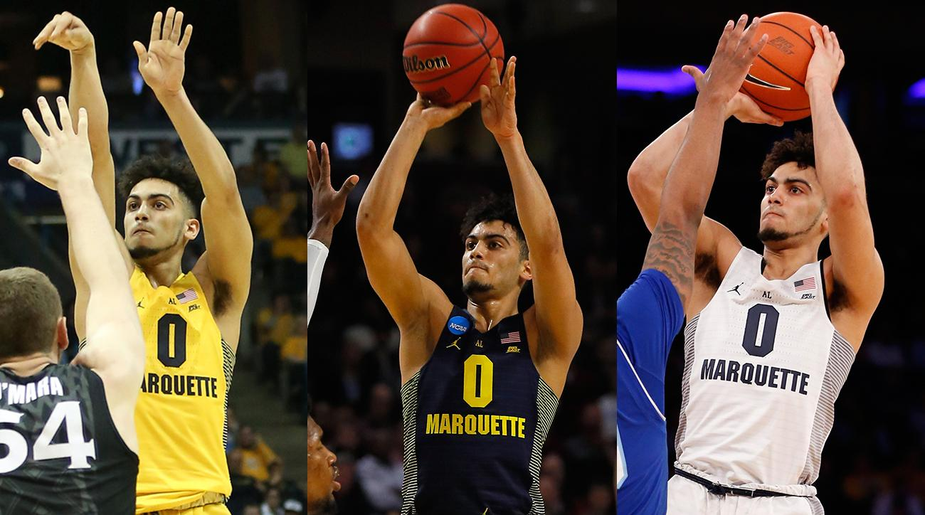 Markus Howard: Marquette sophomore led NCAA in three-point shooting