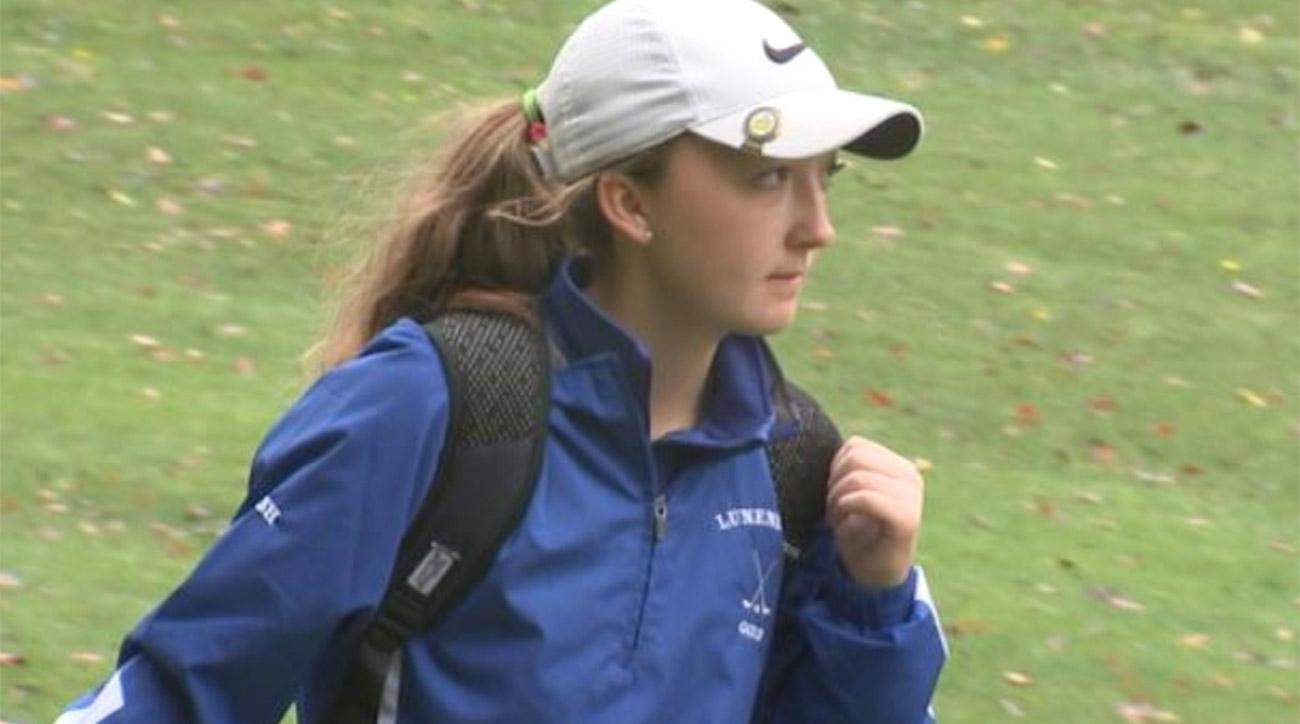 Emily Nash shot the lowest score yet didn't bring home the individual title.