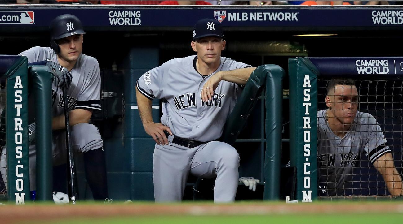 Joe Girardi out as Yankees manager