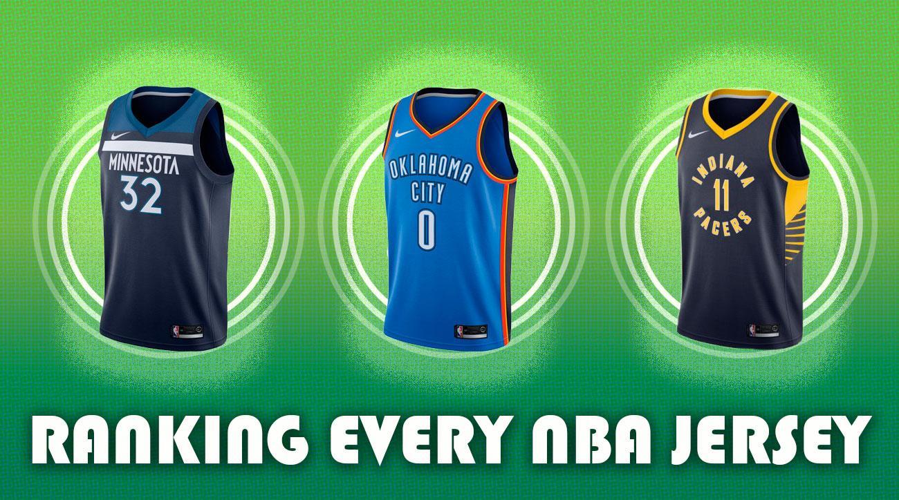Ranking Every NBA Jersey