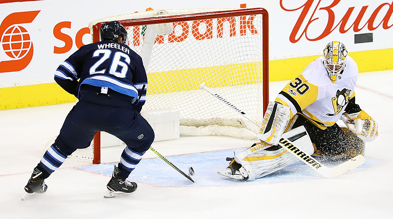 Blake Wheeler, Jets Have Record-Setting Start in Win Over Penguins
