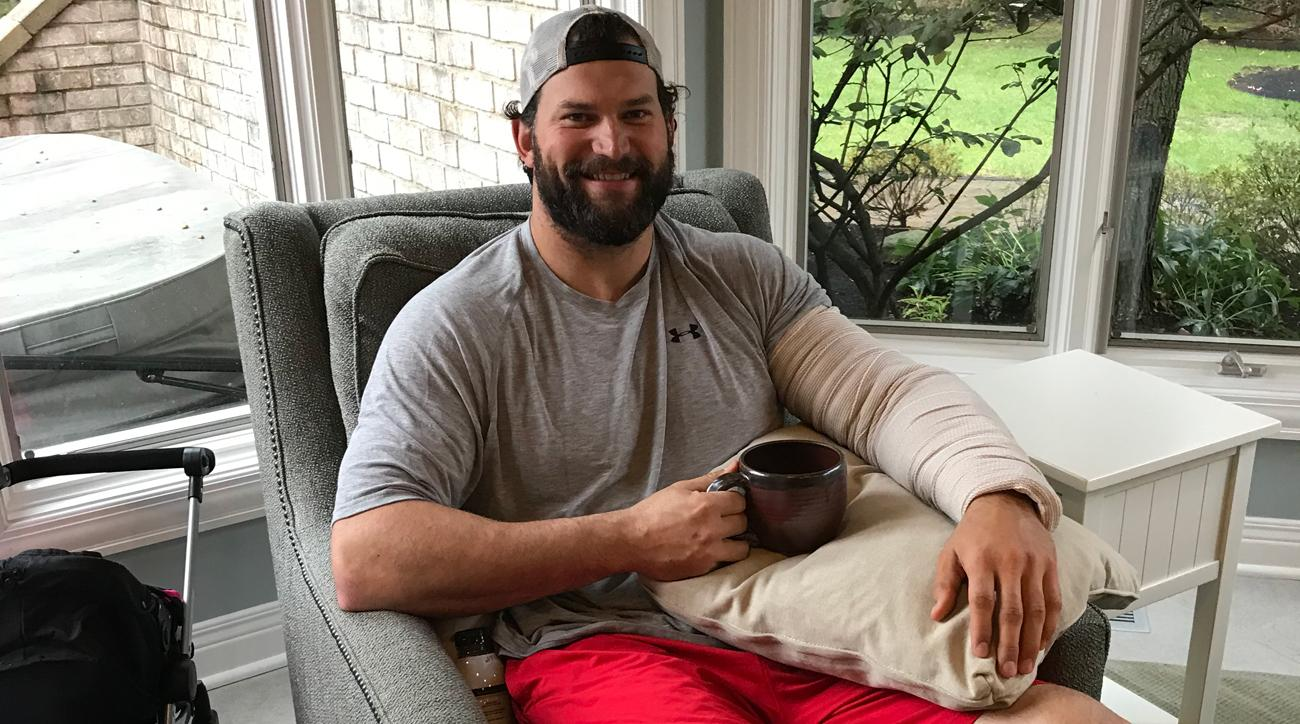 Joe Thomas on watching Cleveland Browns from the couch