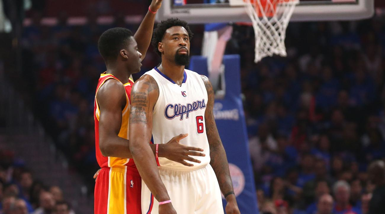 Clippers Looked Into Trading DeAndre Jordan for Clint Capela Last Season
