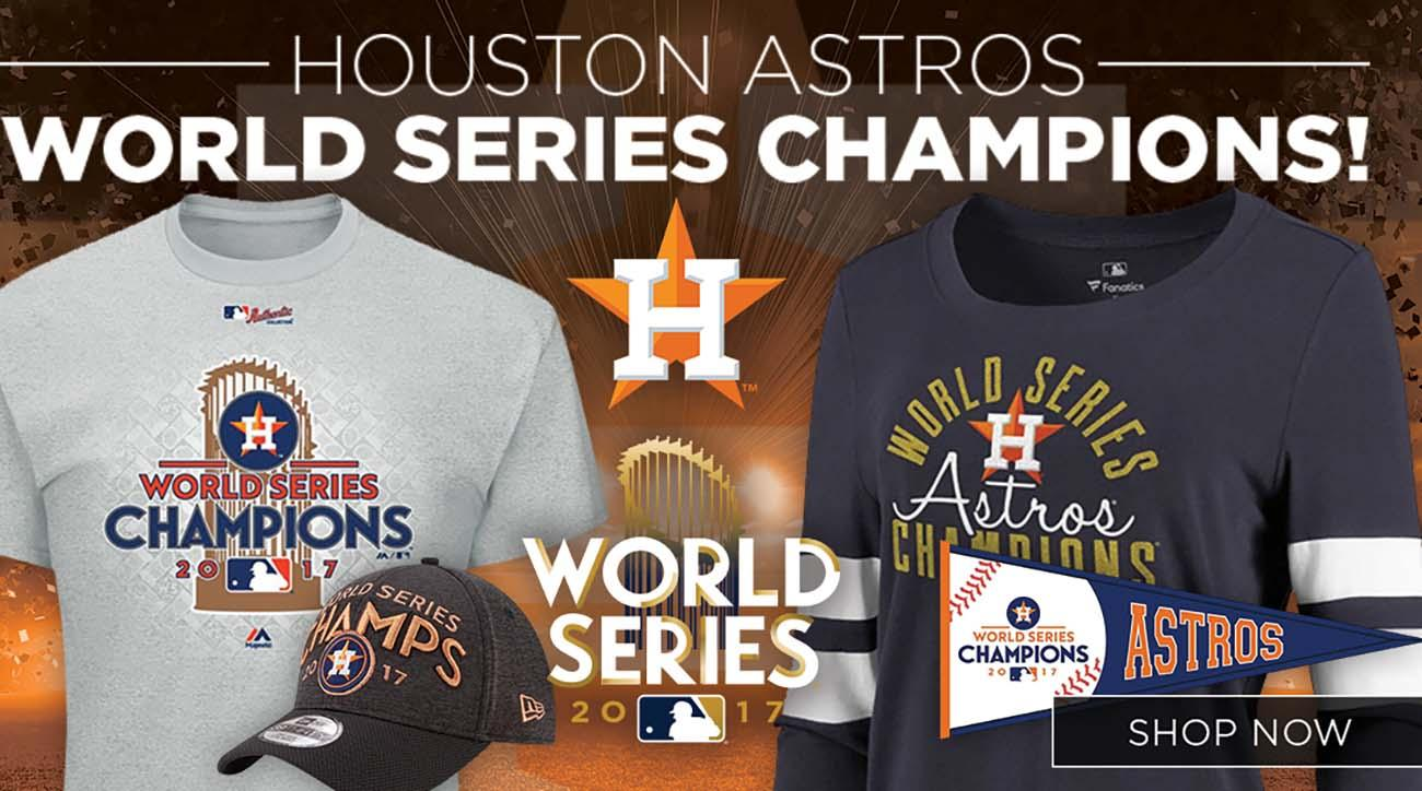 superior quality 5fec1 eeff0 Houston Astros MLB World Series champions gear, shirts | SI.com