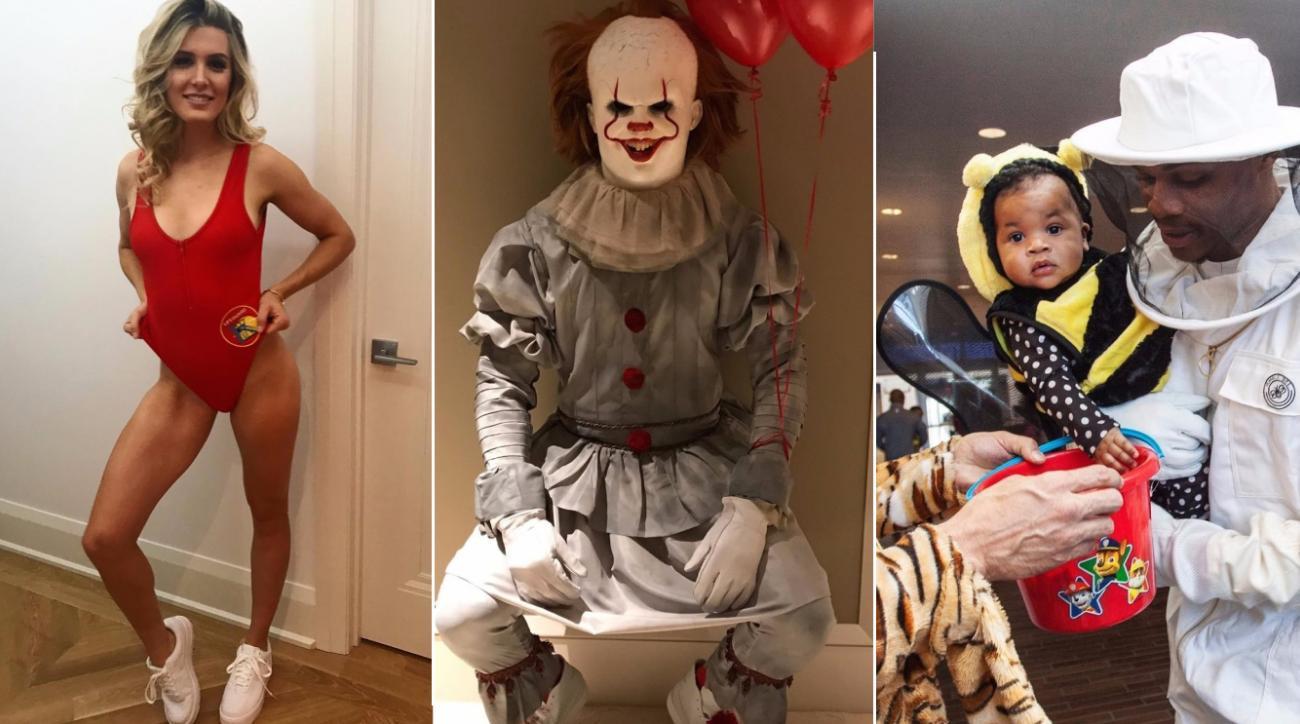 Best athlete Halloween costumes LeBron, Dwyane Wade (photos