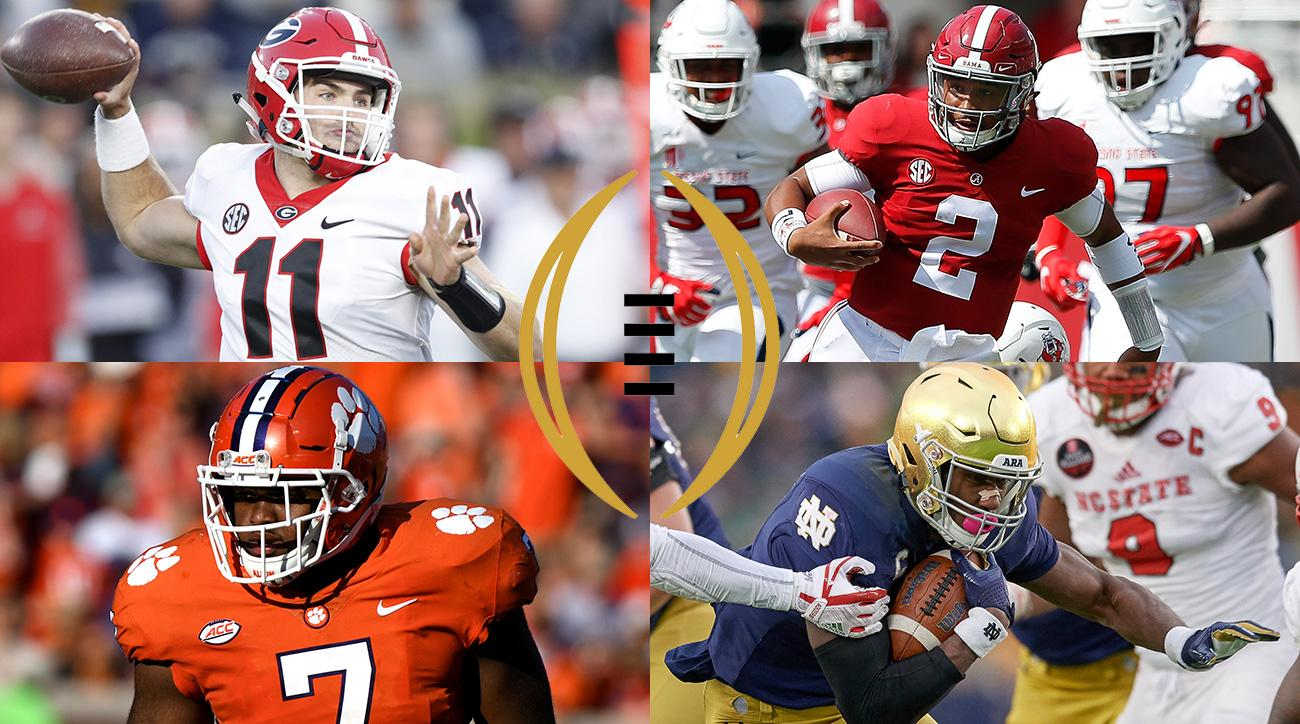 Cfp Rankings Georgia 1 Alabama 2 Oklahoma Ahead Of Osu Si Com