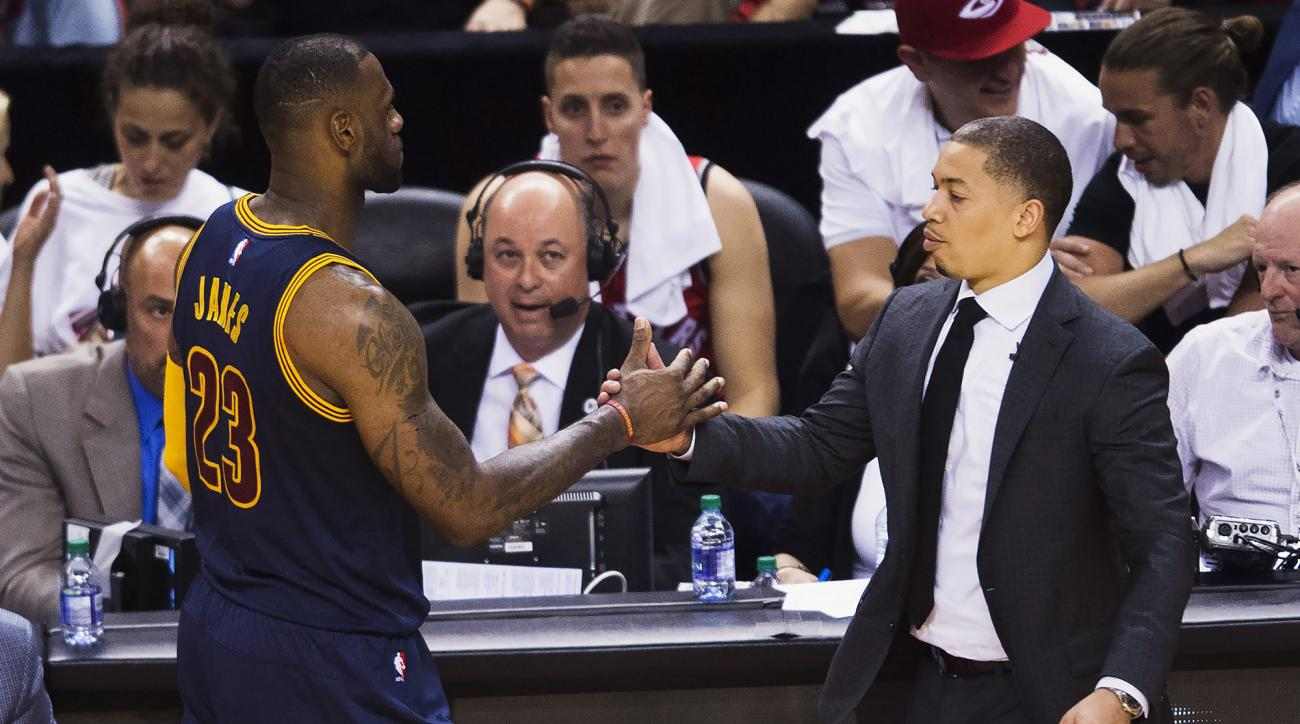 """Tyronn Lue said the Cavs are """"not having fun"""" on the court after a 3-4 start."""