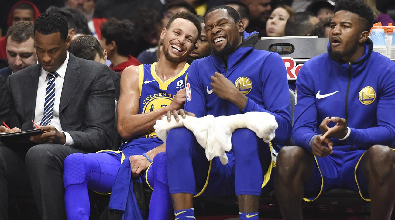 Steph Curry and Kevin Durant