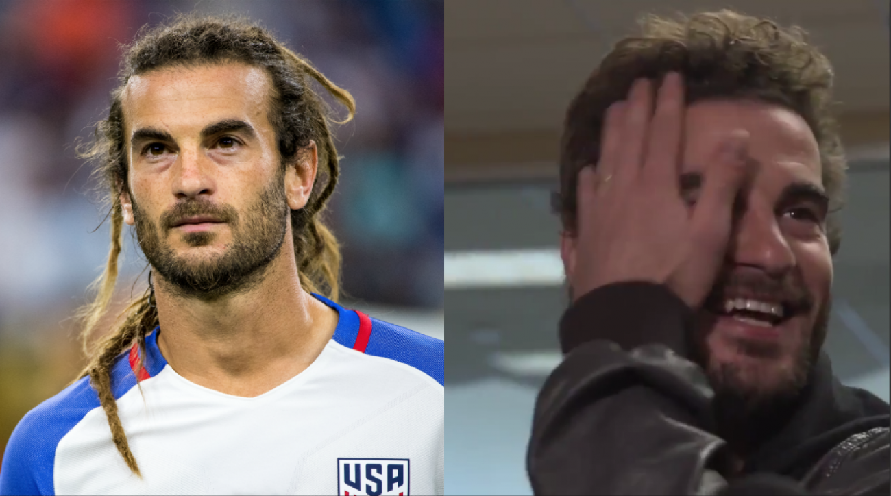 Kyle Beckerman got a haircut (photos)