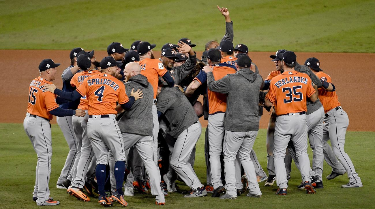 LOOK: Here's what the Astros' World Series championship gear looks like
