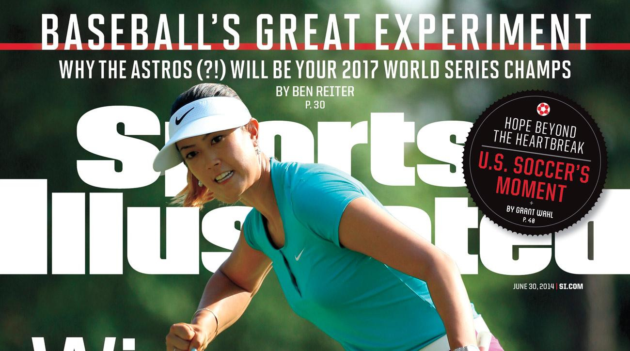 The Michelle Wie Sports Illustrated cover that never was.