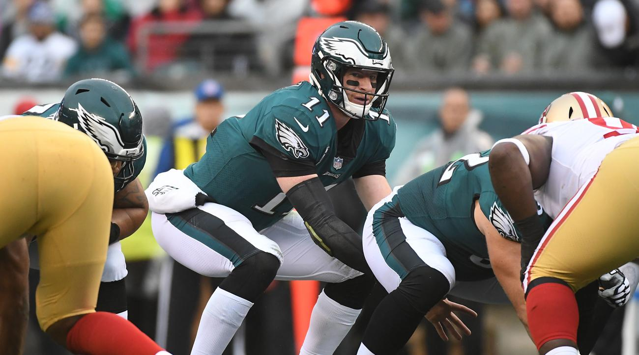 Carson Wentz has earned praise from his coaches for making the correct pre-snap reads.