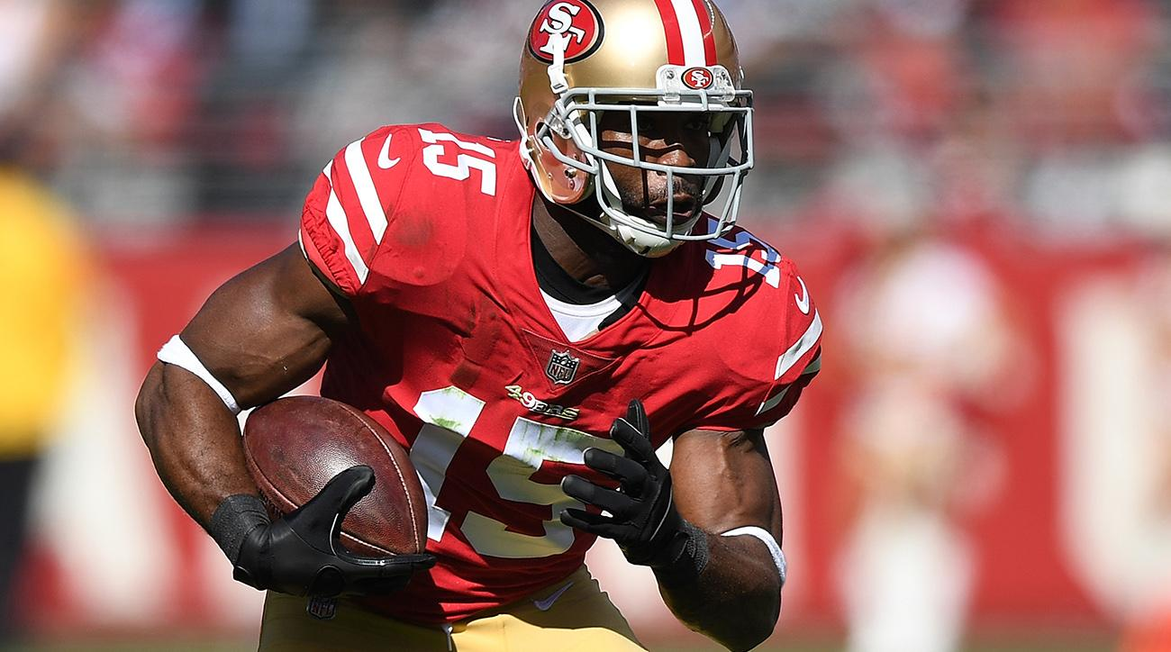 49ers' Pierre Garcon done for the season with neck injury