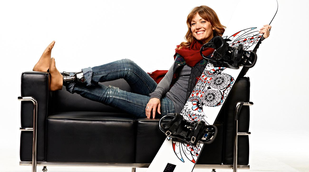 Amy Purdy Lost Both Her Legs to Bacterial Meningitis. Within 6 Months, She Was Snowboarding Again