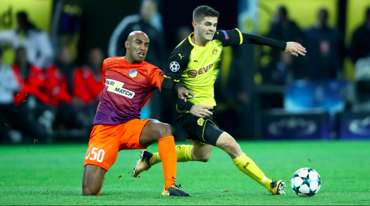 Peter Bosz: Christian Pulisic was Dortmund's 'best player' in defeat to Bayern
