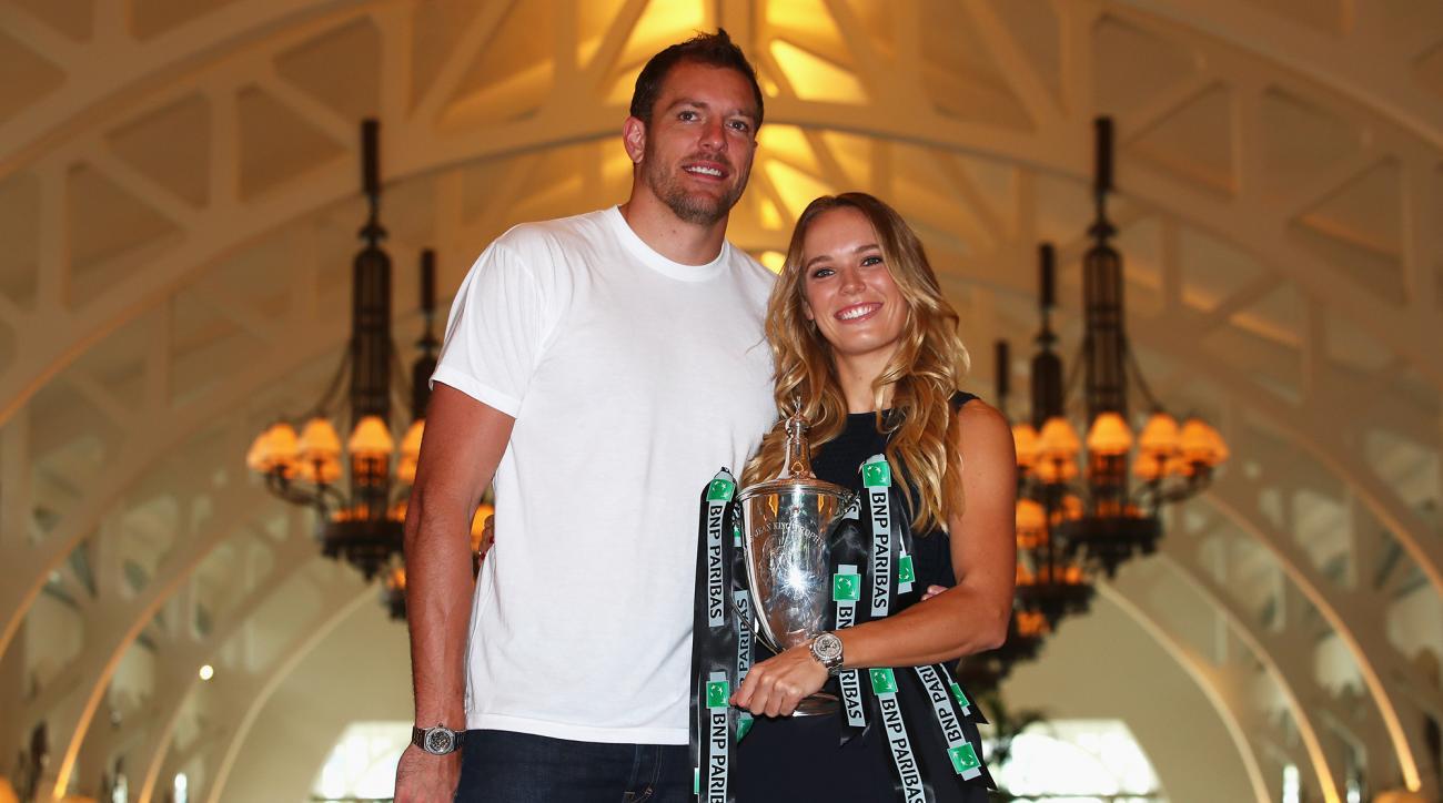Caroline Wozniacki and David Lee are engaged.