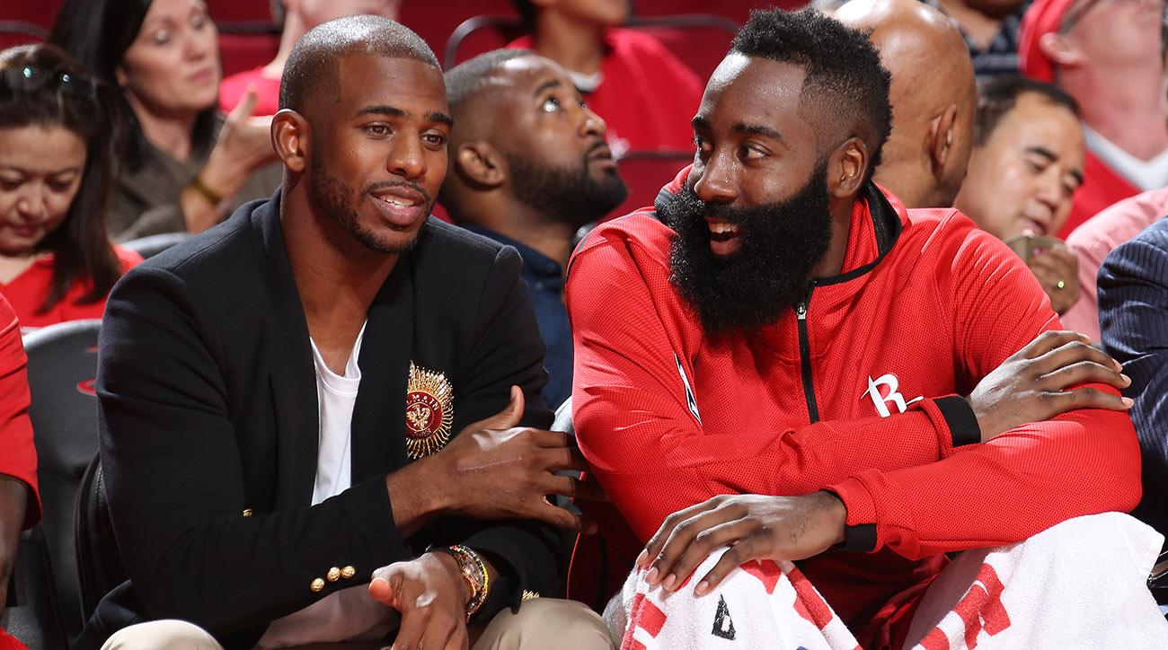 1b3e5d23bd86 James Harden s Hot Hand Complicates Chris Paul s Eventual Return