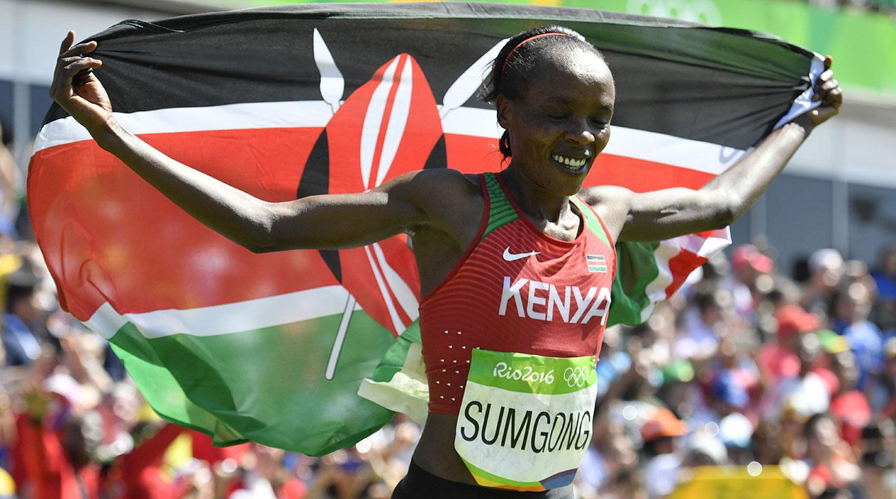 Olympic Marathon Champion Jemima Sumgong Handed Four-Year Doping Ban for EPO