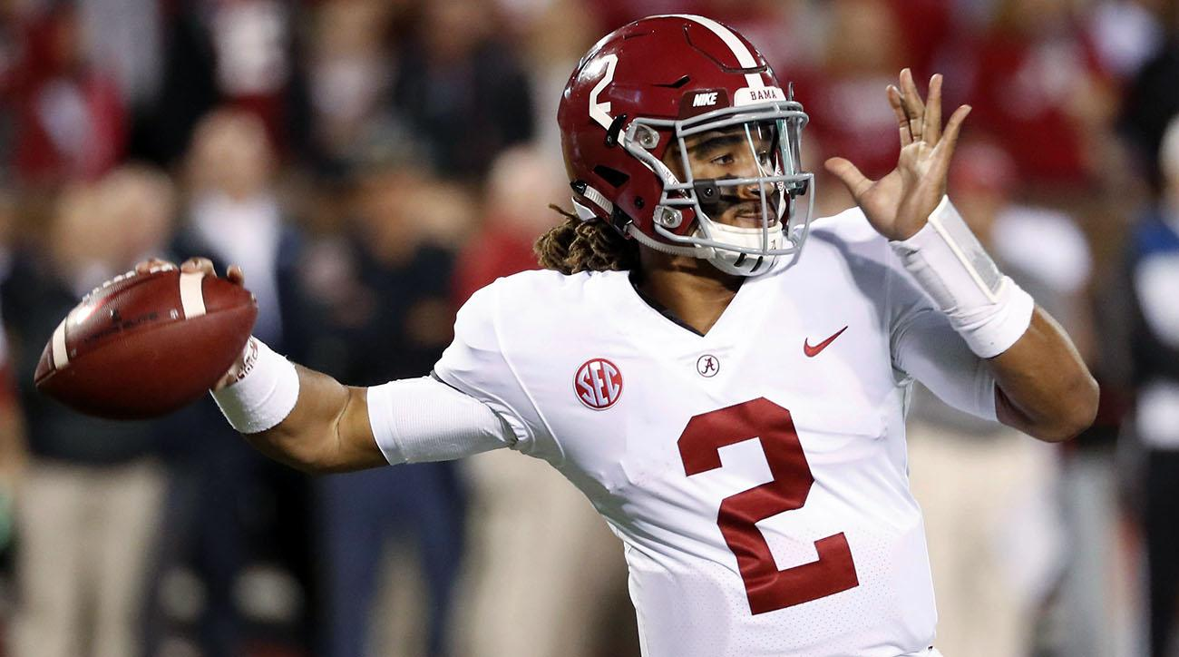 Alabama Beats Mississippi State Behind Jalen Hurts Calvin Ridley