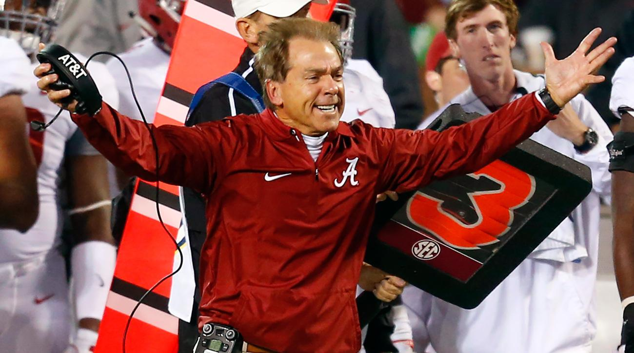 College football rankings: Alabama, Miami, Oklahoma top playoff picture after Week 11