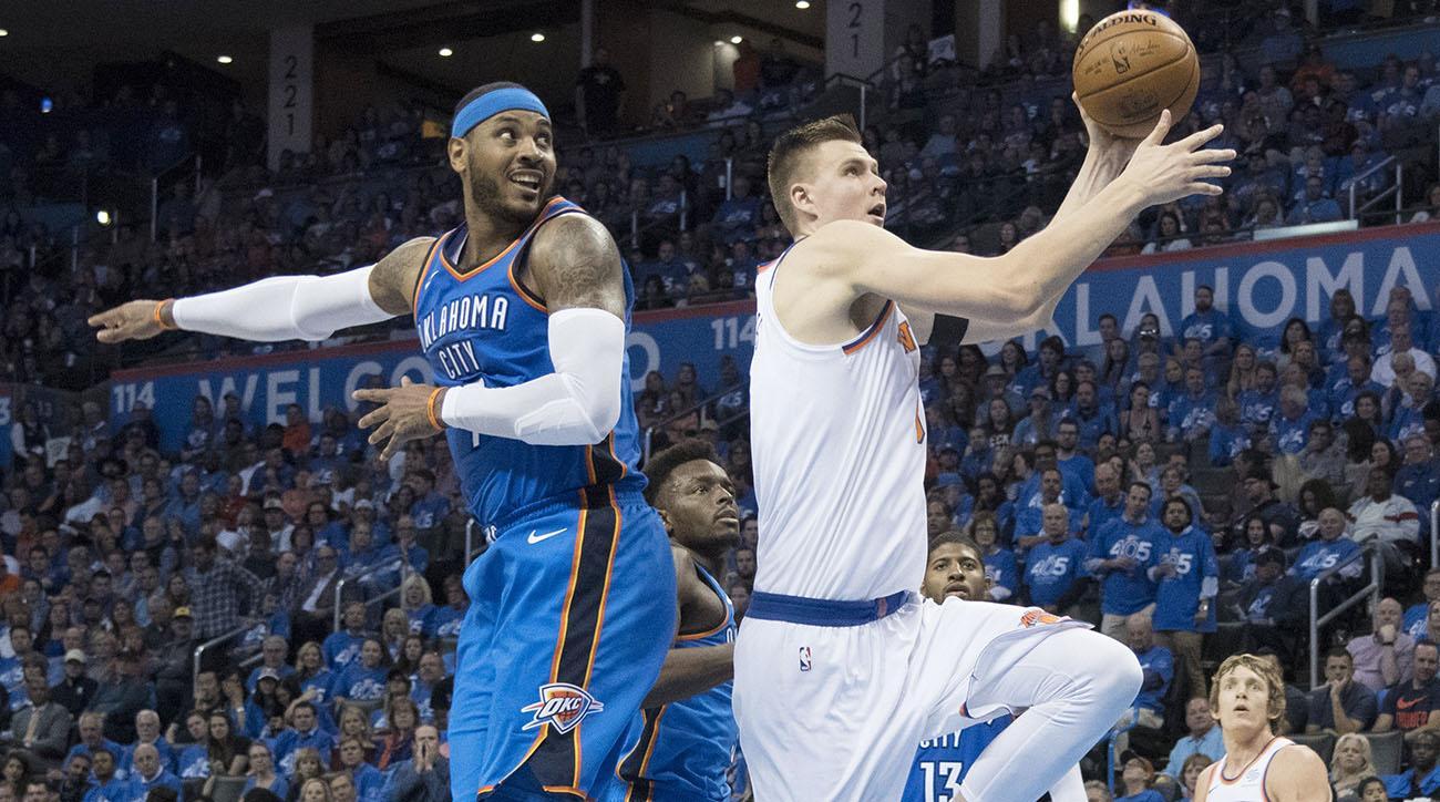 Thunder and Knicks