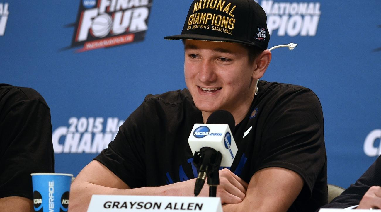 why do grayson allen of duke si