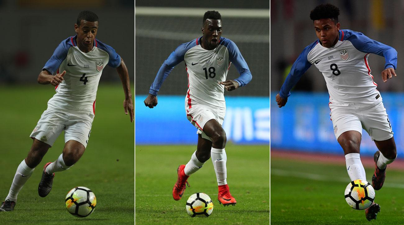 Tyler Adams, CJ Sapong, Weston McKennie all showed well for the USA in Portugal