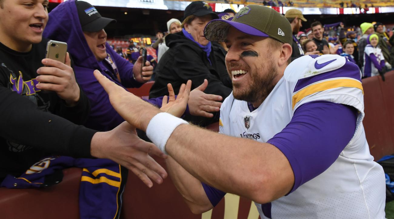 Vikings stick with Case Keenum as starting quarterback versus the Rams
