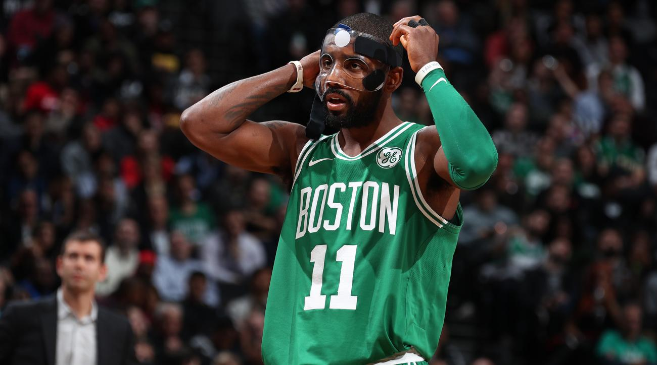 Irving returns to spark Celtics' 13th straight win