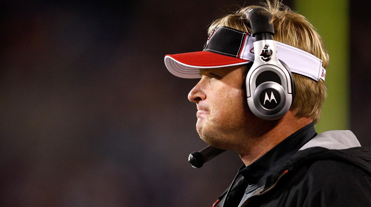 Jon Gruden on Tennessee rumors: 'You never say never to nothing'