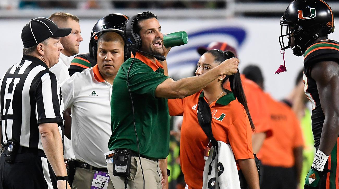 5849a7d69 Manny Diaz s Resurrection of Miami s Defense Isn t All About the Turnover  Chain