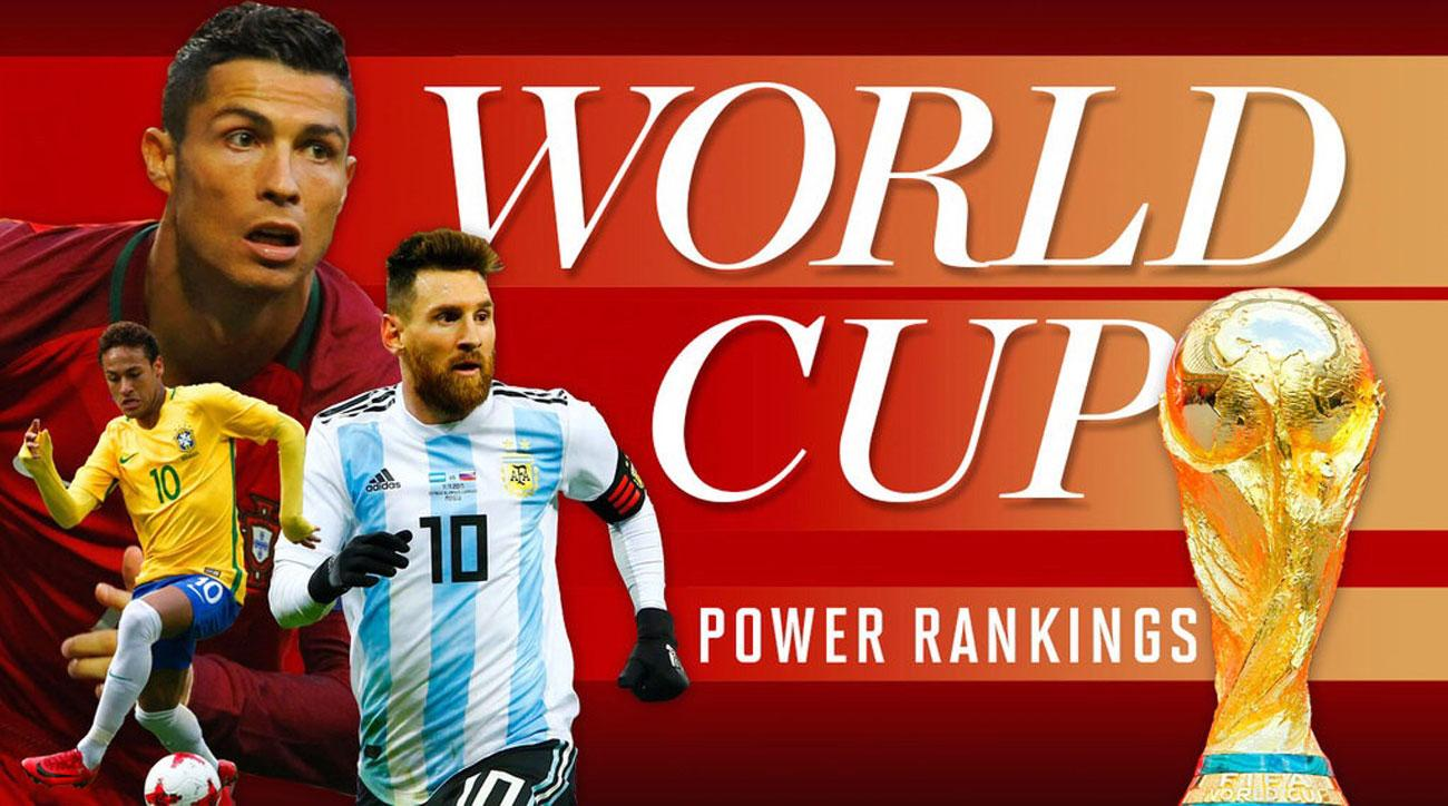 World Cup Power Rankings  How the field of 32 teams stacks up  c62c9b2f7