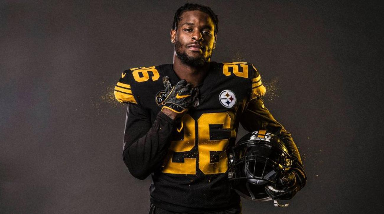 steelers rush color jerseys