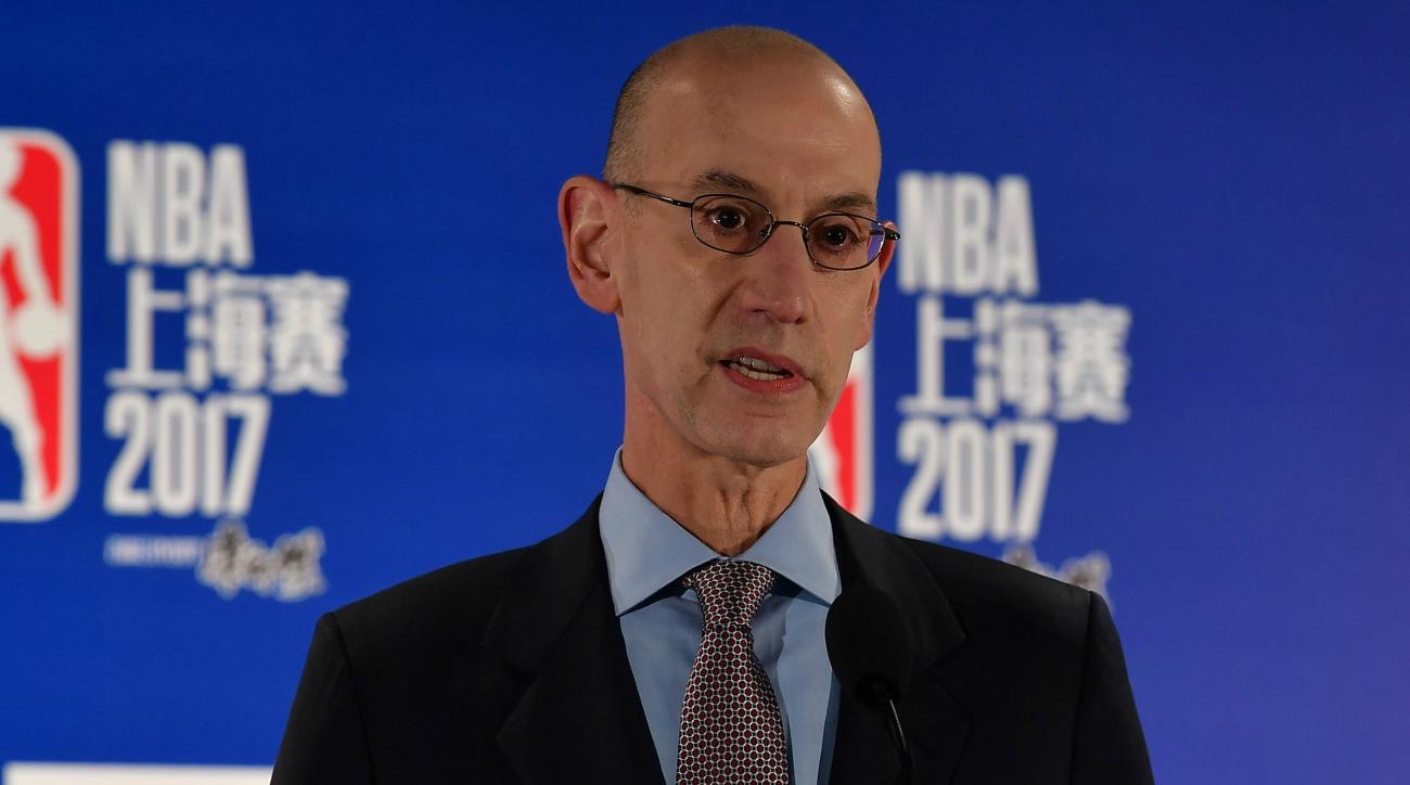 Adam Silver, NBPA chief talk one-and-done rule with new commission