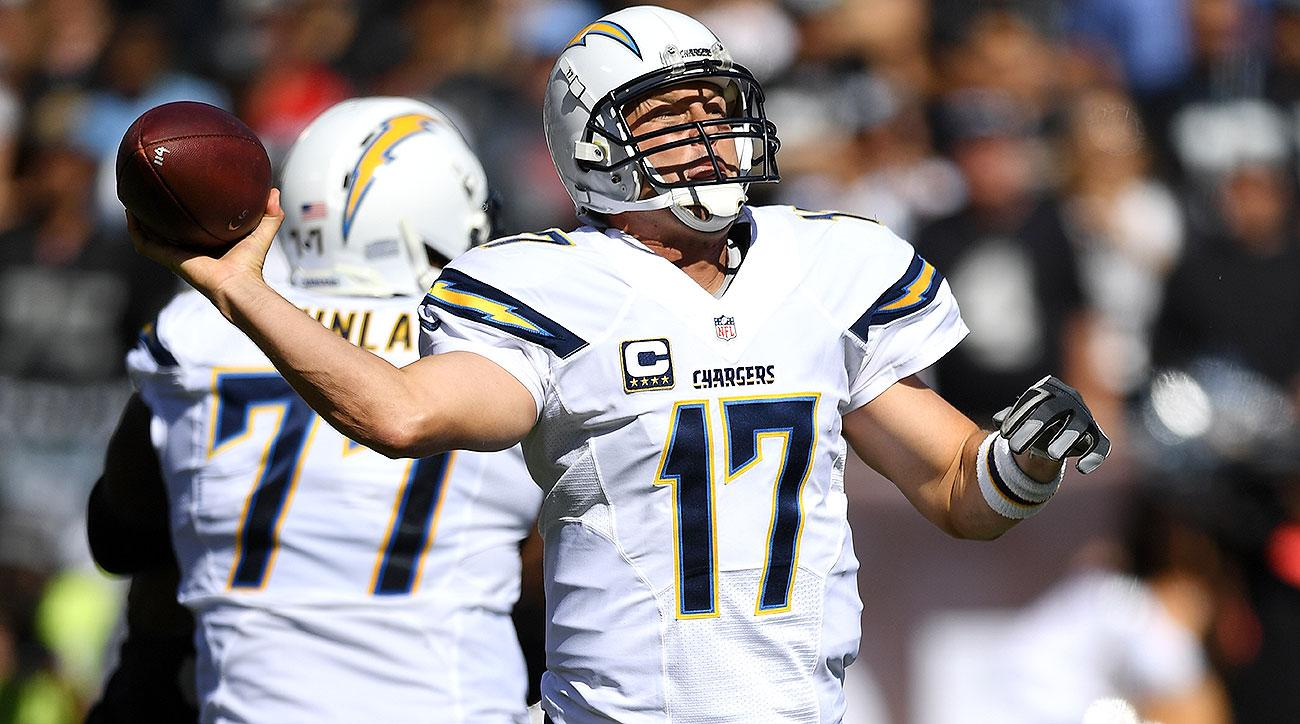 Chargers Head Coach Anthony Lynn Believes QB Philip Rivers Will Play Sunday