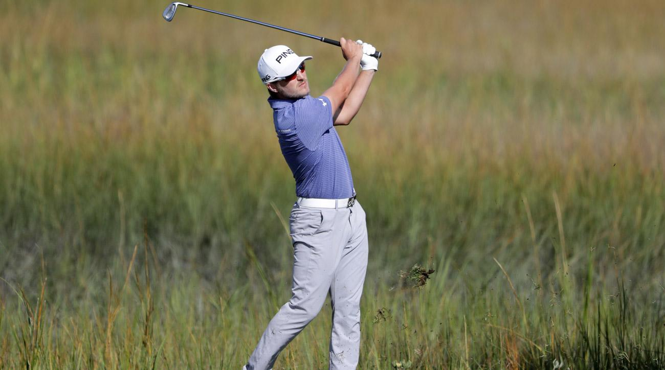 Austin Cook during the third round of the RSM Classic at Sea Island Golf Club.