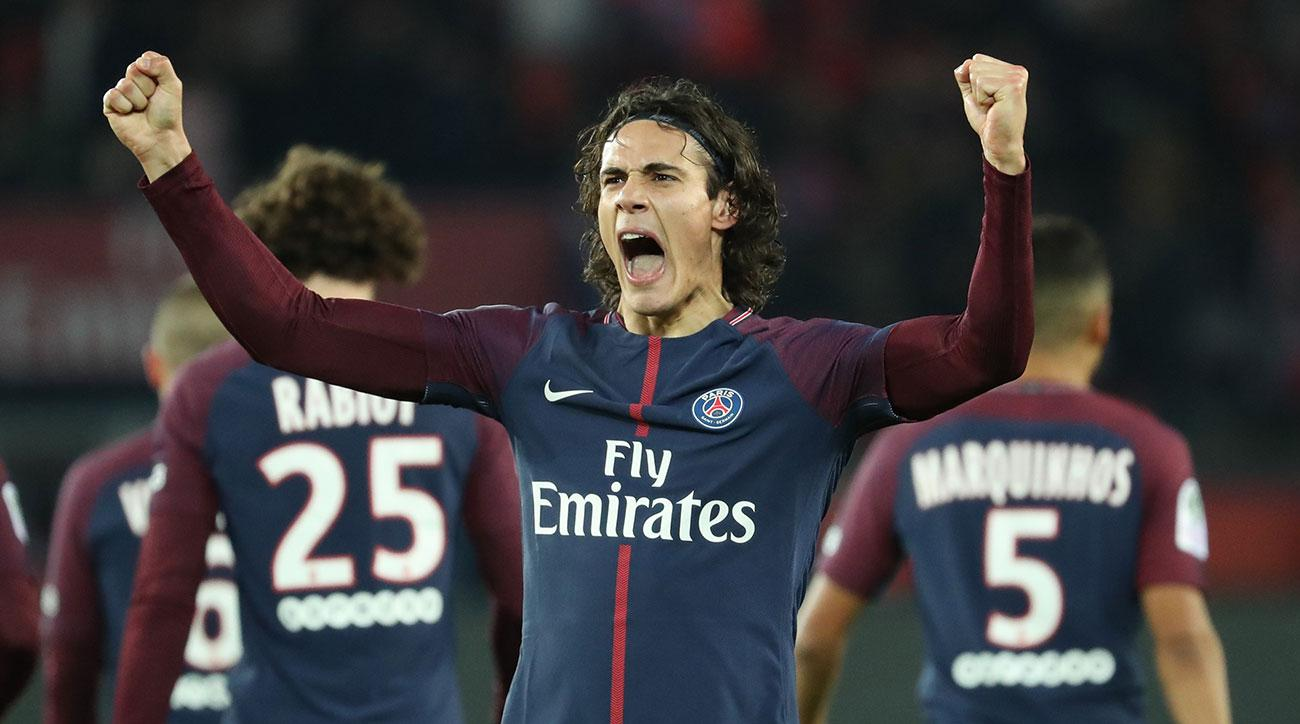Ligue 1 round-up: Edinson Cavani maintains form as PSG extend lead