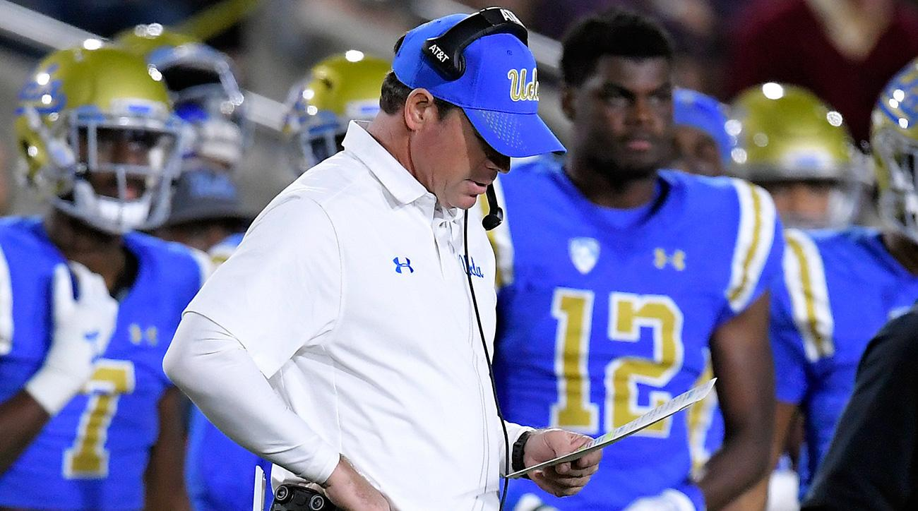 Jim Mora fired: UCLA coach search begins with Chip Kelly, Kevin Sumlin