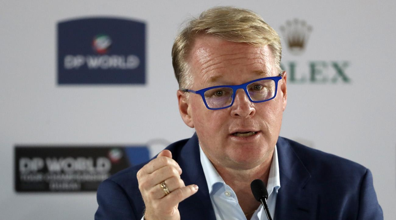 European tour CEO Keith Pelley spoke on a variety of subjects at this weekend's season-ending DP World Tour Championship in Dubai.