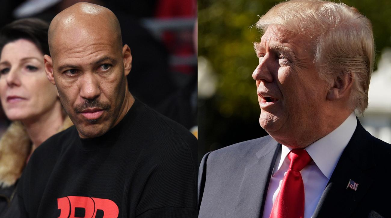 The inevitable LaVar Ball vs. Donald Trump war of words is here