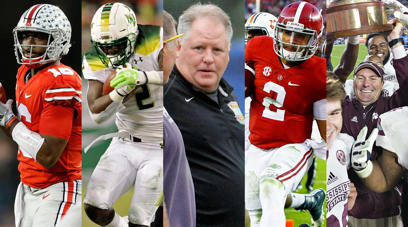 College football schedule gets busy: Chip Kelly, Jon Gruden, Auburn-Alabama, Ohio State-Michigan and more