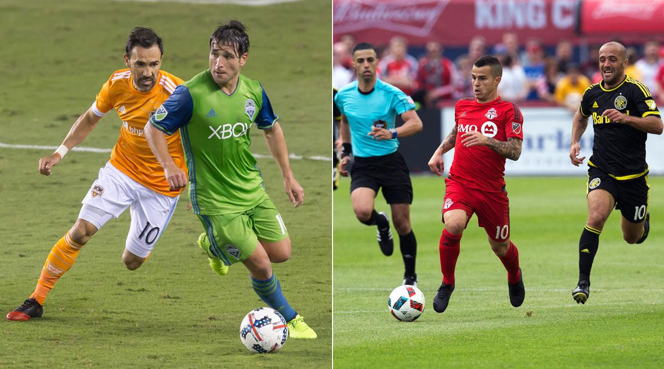 Seattle Sounders vs. Houston Dynamo in MLS Cup Playoffs