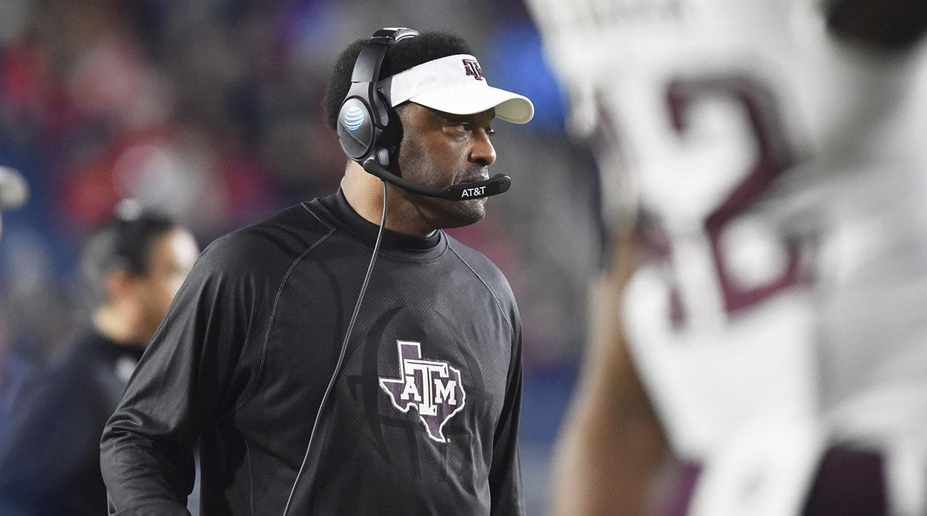 Aggies head coach Kevin Sumlin to be let go