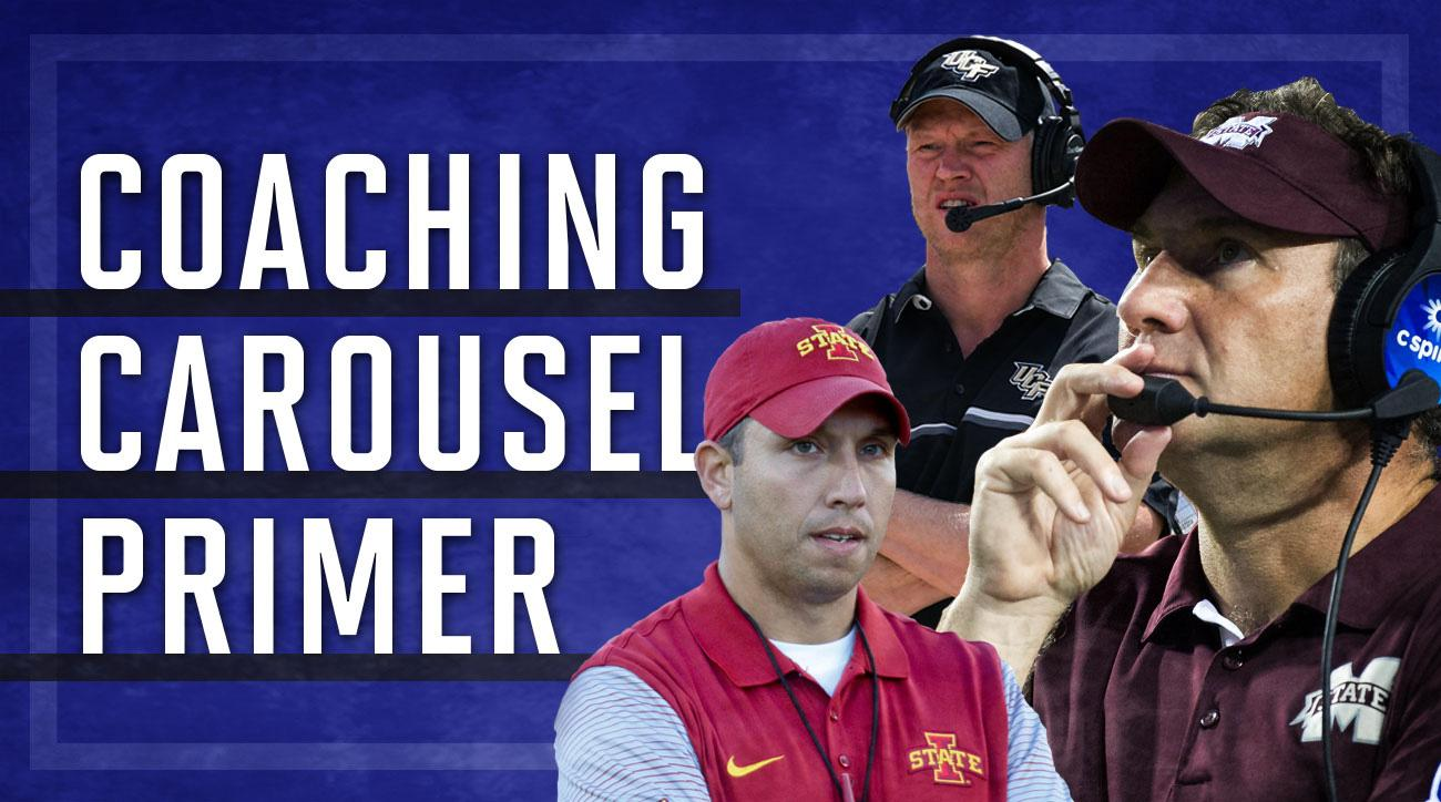 Coaching carousel preview: From Chip Kelly to Lane Kiffin | SI.com