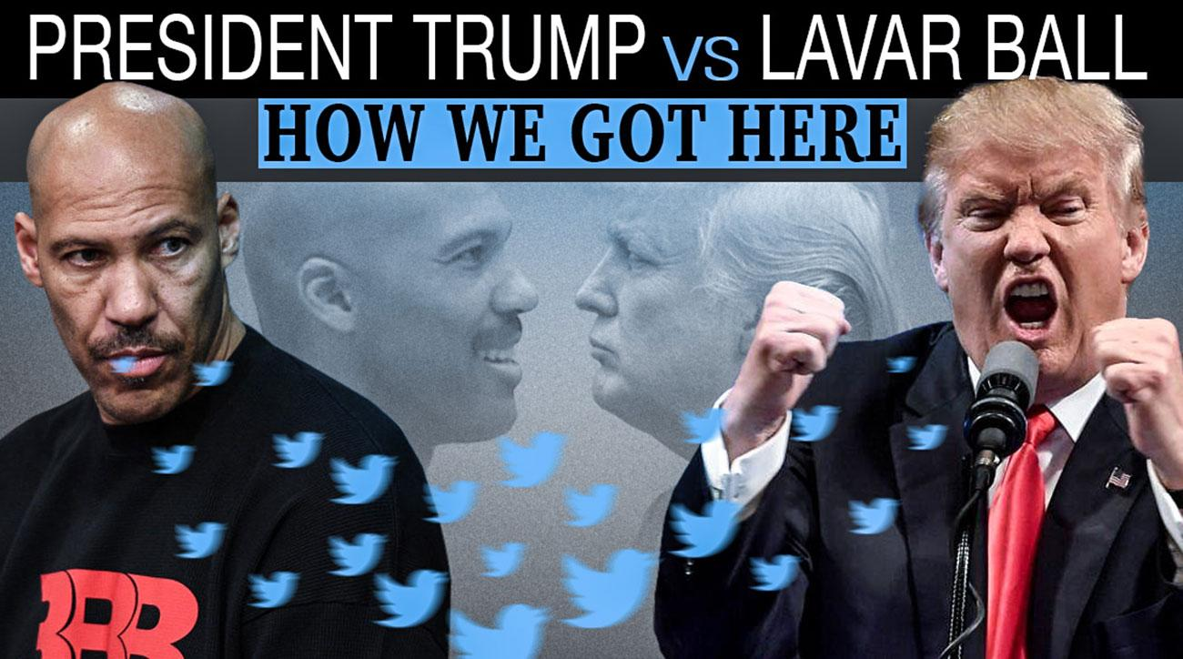 Donald Trump vs. LaVar Ball: A Timeline | SI.com