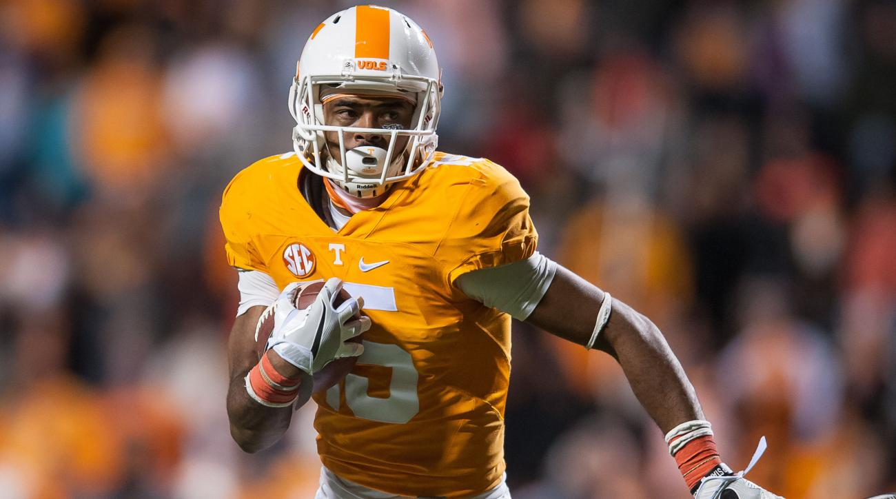 Tennessee WR Jauan Jennings dismissed from program