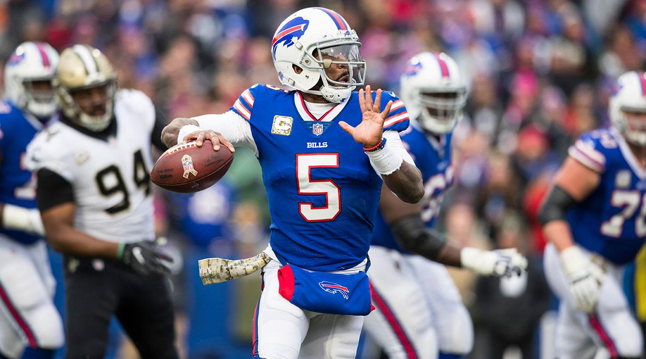 Tyrod Taylor Named Bills' Starting QB Again