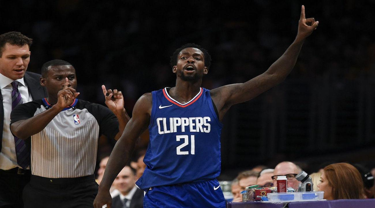 Clippers guard Patrick Beverley is out for the season after knee surgery