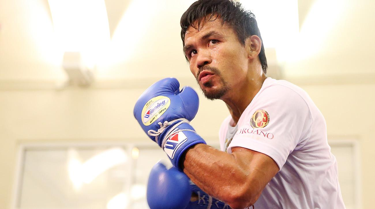 Pacquiao teases McGregor fight by using real boxing match bait