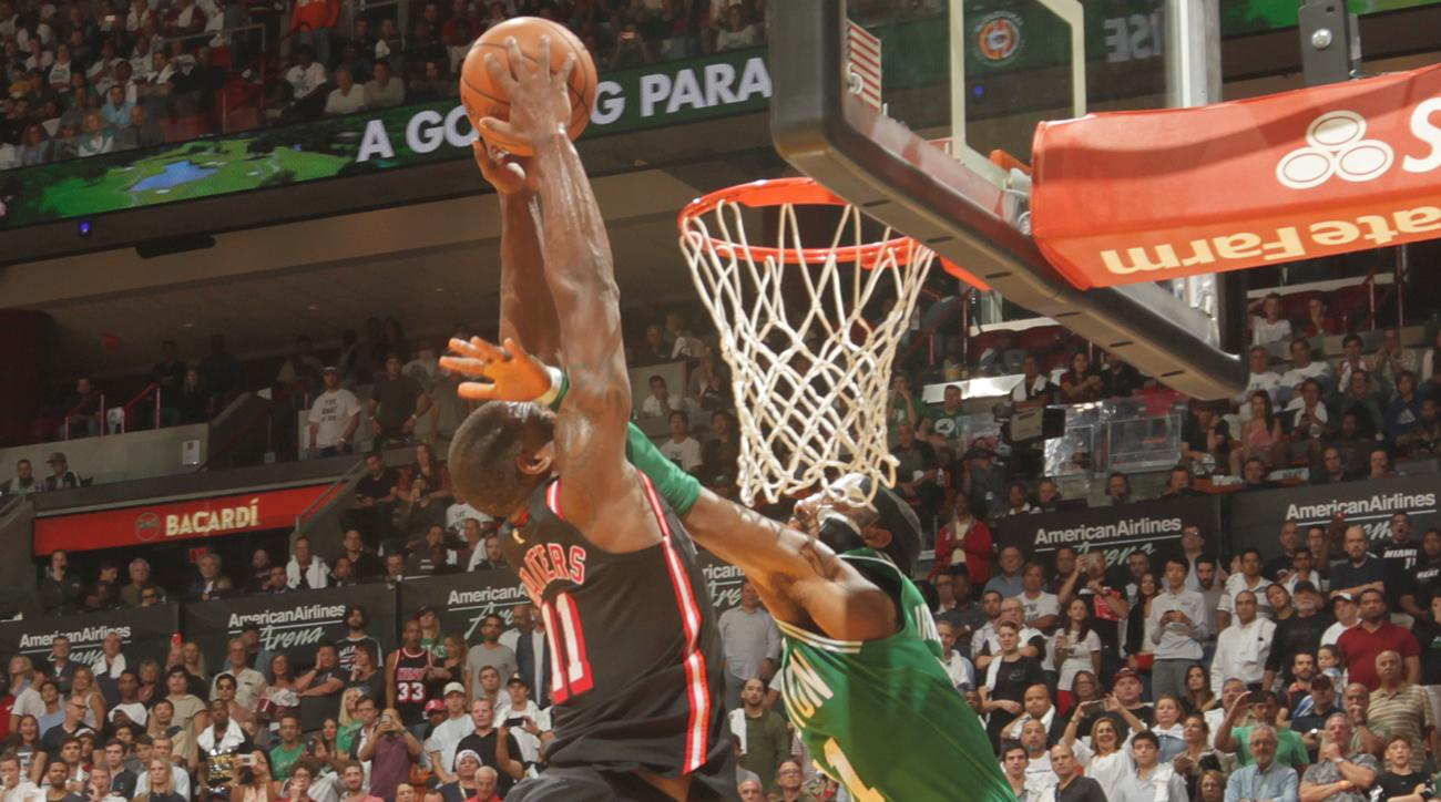 Heat snap Celtics' 16-game winning streak